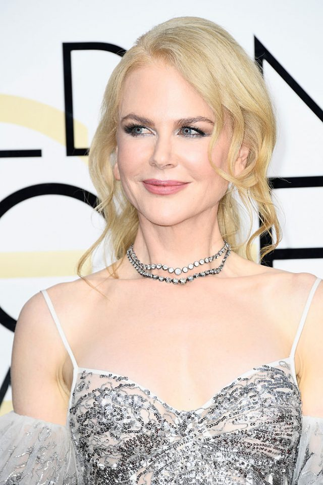 Actress Nicole Kidman attends the 74th Annual Golden Globe Awards at The Beverly Hilton Hotel on January 8, 2017 in Beverly Hills, California. (Photo by Frazer Harrison/Getty Images)