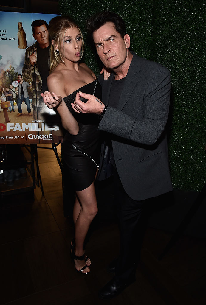 Charlie Sheen (Photo credit: Getty Images)
