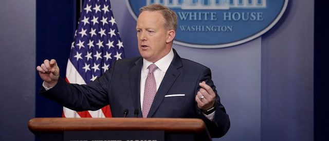 Sean Spicer (Getty Images)