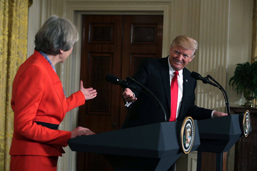 Theresa May and Donald Trump (Getty Images)