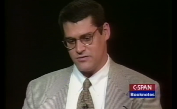 Glenn Simpson, 1996 C-SPAN interview.
