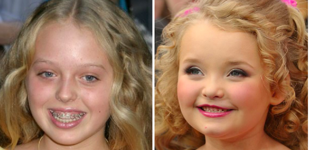 Tiffany Trump and Honey Boo Boo.
