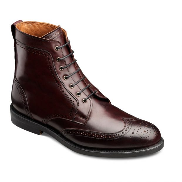 Normally $725, these boots are $100 off (Photo via Allen Edmonds)
