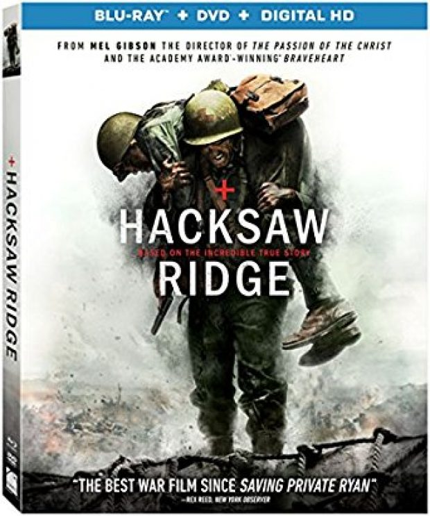 The Blu-ray version of 'Hacksaw Ridge' can currently be ordered for as low as $20 (Photo via Amazon)