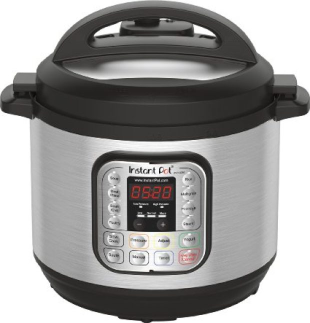Normally $160, this electric pressure cooker is 19 percent off (Photo via Amazon)