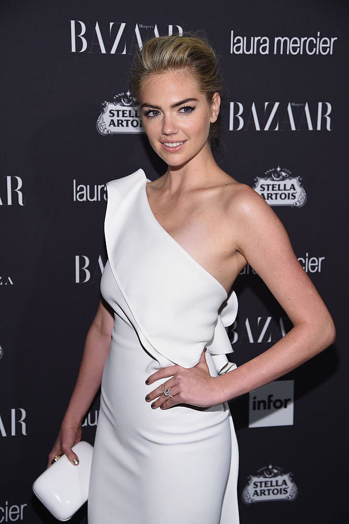 """Kate Upton attends Harper's Bazaar's celebration of """"ICONS By Carine Roitfeld"""" presented by Infor, Laura Mercier, and Stella Artois at The Plaza Hotel on September 9, 2016 in New York City. (Photo by Dimitrios Kambouris/Getty Images for Harper's Bazaar)"""