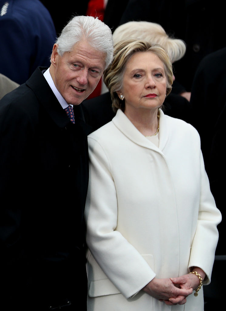 Bill and Hillary Clinton (Getty Images)