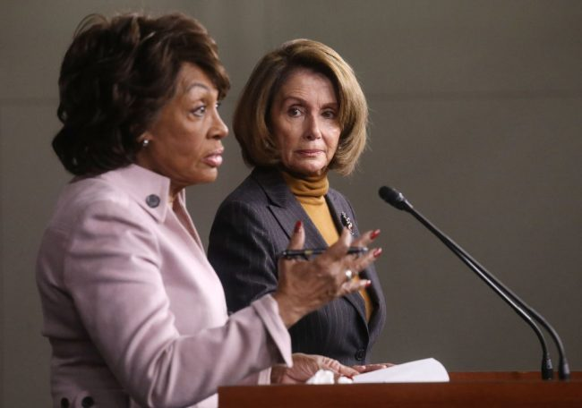 Maxine Waters and Nancy Pelosi (Getty Images)