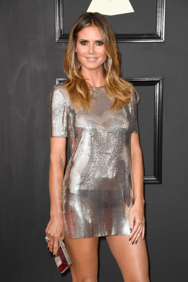 Heidi Klum Just Wore The Shortest Dress We Have Ever Seen The