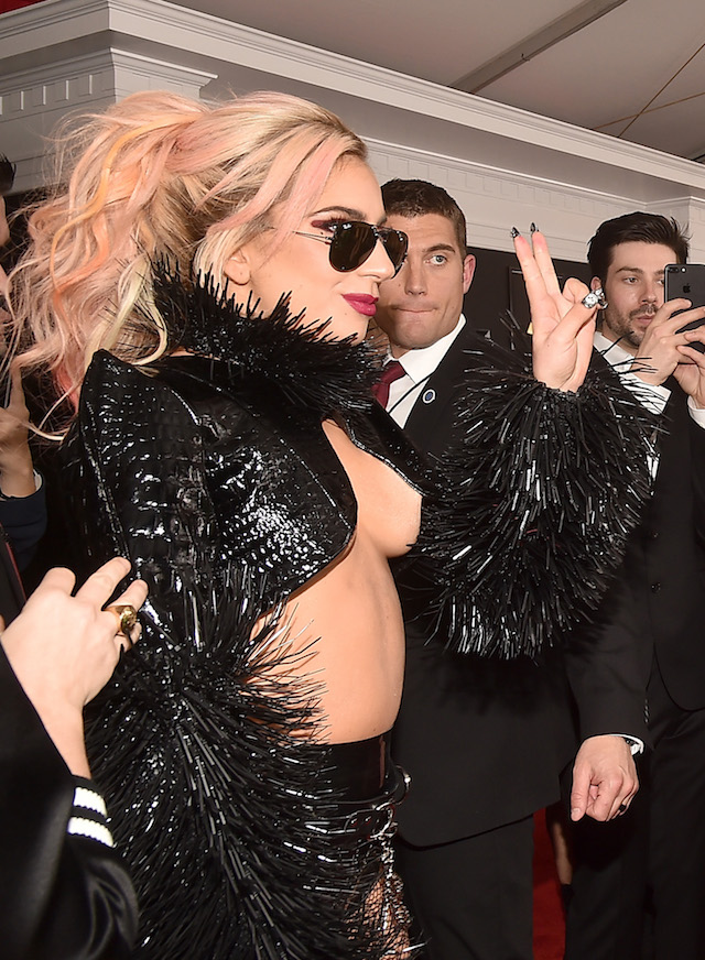 e86602126ae1 Lady Gaga Wore The Most Scandalous Outfit At The Grammy Awards