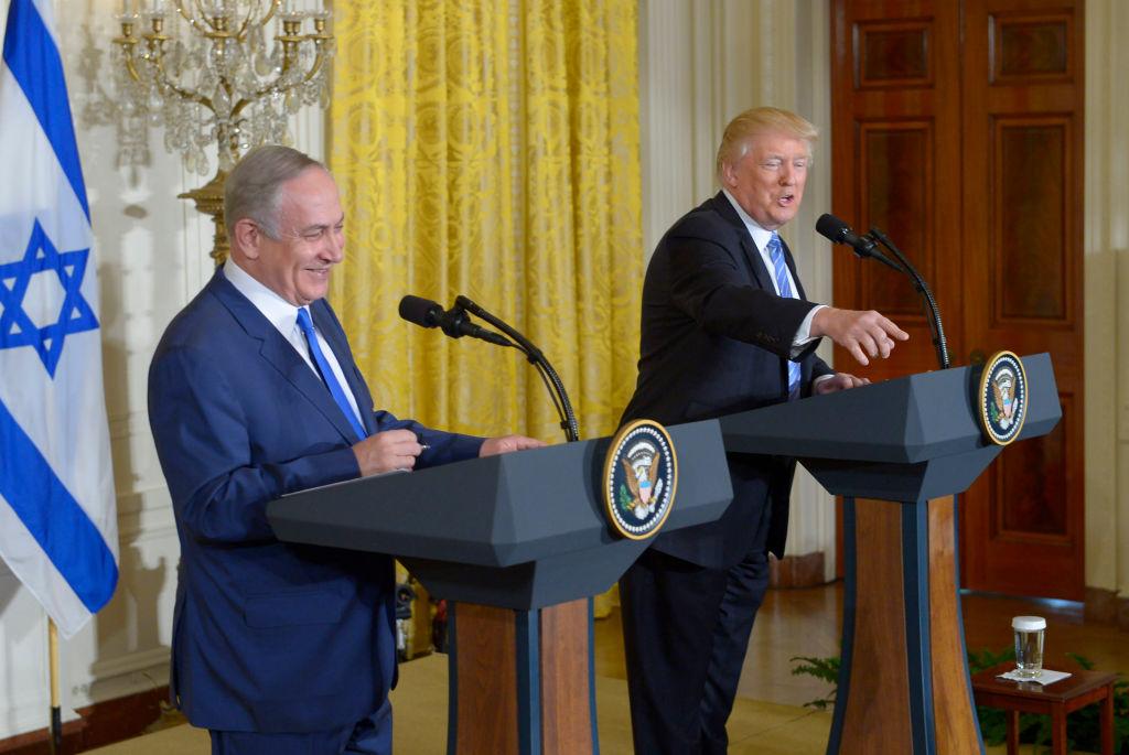 Bibi Netanyahu, Donald Trump (Getty Images)