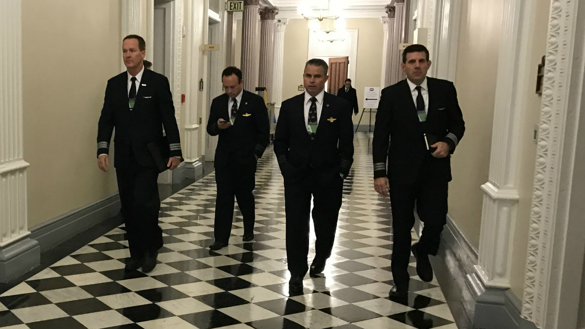 SWAPA and NJASAP pilots met with the White House Feb. 14 to discuss an Obama-era ruling which the unions argue could hurt American pilots: The Keelen Group