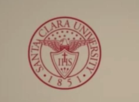 Santa Clara University YouTube screenshot Santa Clara University