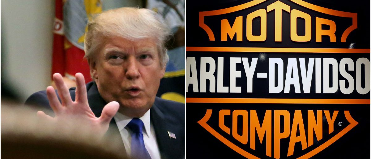 harley davidson cancels thursday event with p | the daily caller