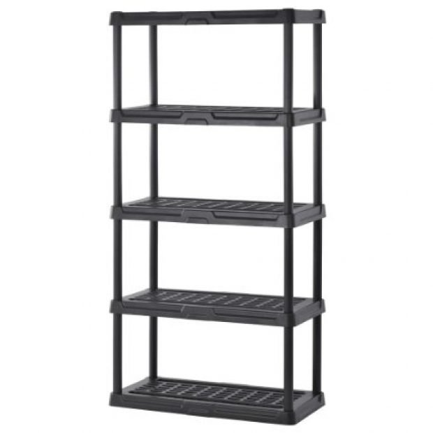 Normally $43, this shelving unit is 31 percent off today (Photo via Amazon)