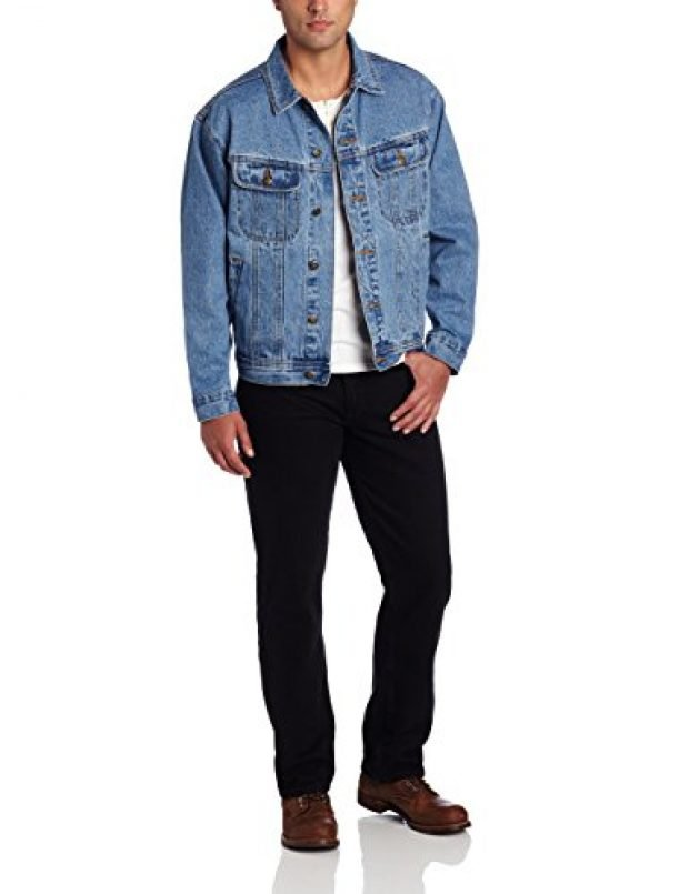 Normally $50, this denim jacket is 44 percent off today (Photo via Amazon)