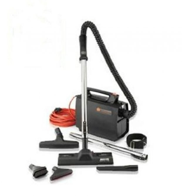 Normally $150, this canister vacuum is 43 percent off today (Photo via Amazon)