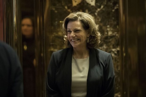 KT McFarland at Trump Tower (Drew Angerer / Getty)