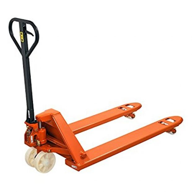 Normally $582, this pallet truck is 39 percent off today (Photo via Amazon)