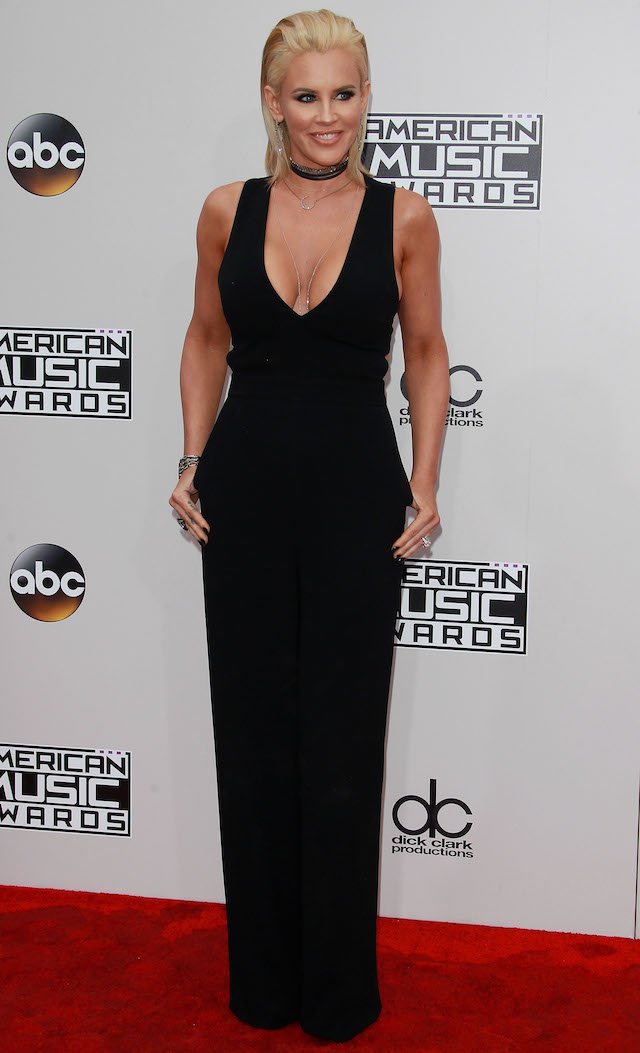 NO JUST JARED USAGE<BR /> Red carpet at the 2016 American Music Awards, California on November 21, 2016. <P> Pictured: Jenny McCarthy <B>Ref: SPL1397570 211116 </B><BR /> Picture by: Splash News<BR /> </P><P> <B>Splash News and Pictures