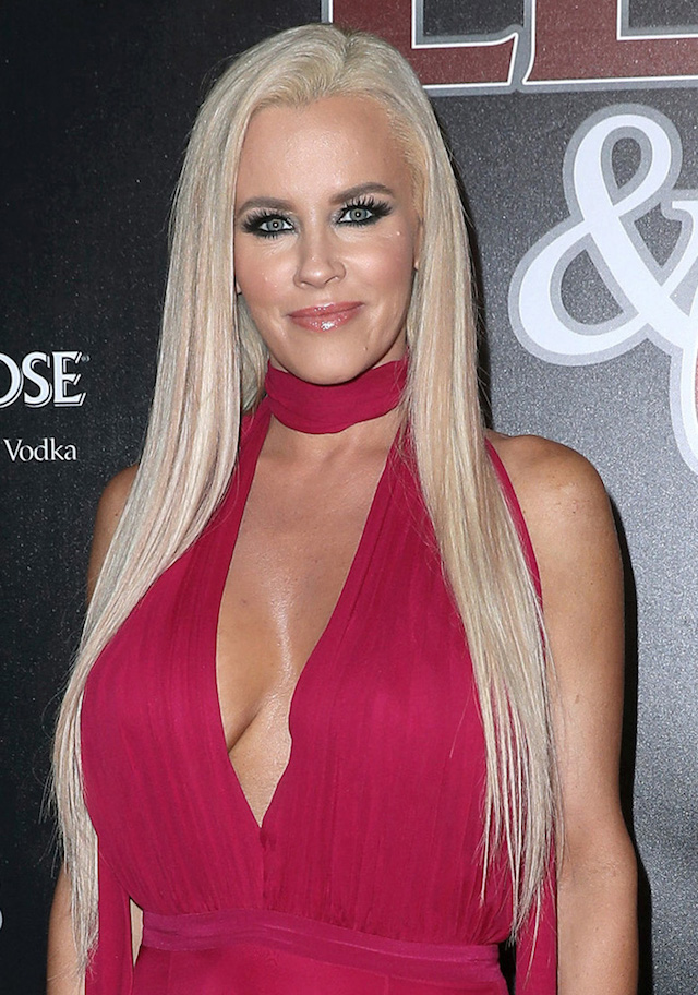 Celebrities attend the 14th Annual Leather & Laces Super Bowl Party. Held at Hughes Manor, Houston, Texas. <P> Pictured: Jenny McCarthy <B>Ref: SPL1434648 030217 </B><BR /> Picture by: Photo Image Press<BR /> </P><P>