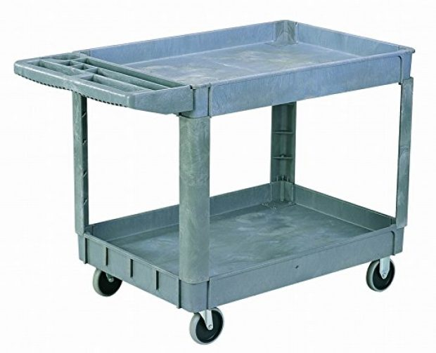 Normally $255, this utility cart is 42 percent off today (Photo via Amazon)