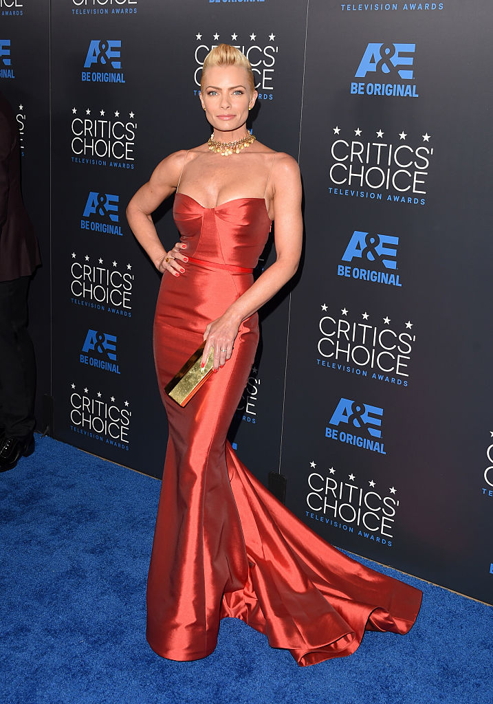 BEVERLY HILLS, CA - MAY 31: Actress Jaime Pressly attends the 5th Annual Critics' Choice Television Awards at The Beverly Hilton Hotel on May 31, 2015 in Beverly Hills, California.