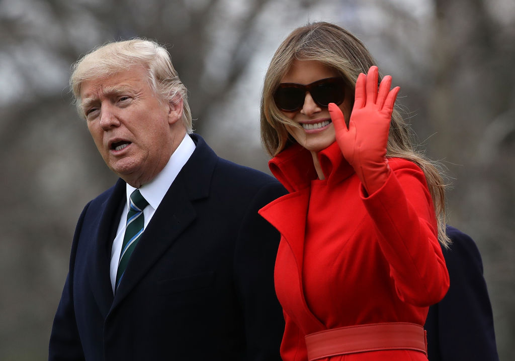 Melania Trump. (Photo: Getty Images)