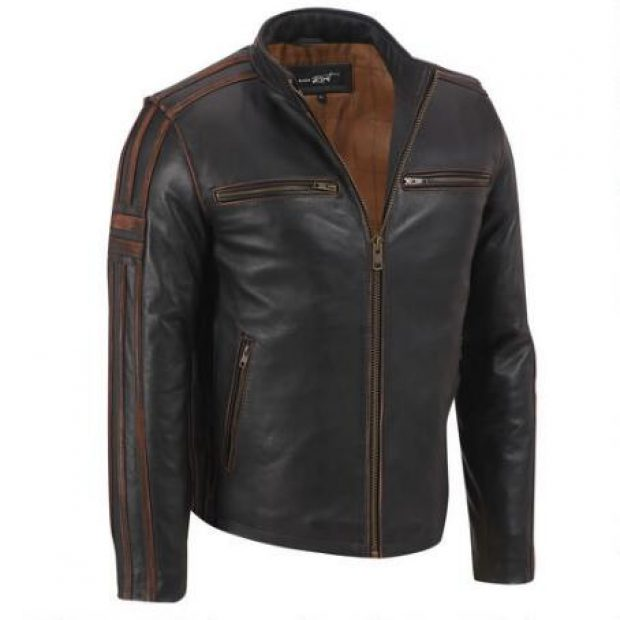 Normally $380, this leather jacket is 50 percent off (Photo via Wilsons Leather)