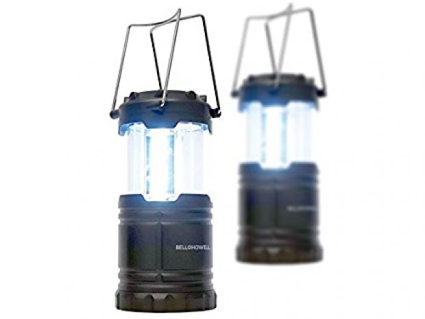 Normally $60, this 2-pack of lanterns is 50 percent off today (Photo via Amazon)