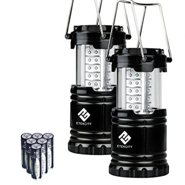 Normally $40, this 2-pack of lanterns is 55 percent off today (Photo via Amazon)