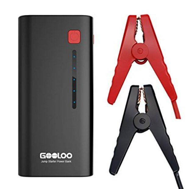 Normally $200, ths jump starter/power bank is 65 percent off today (Photo via Amazon)