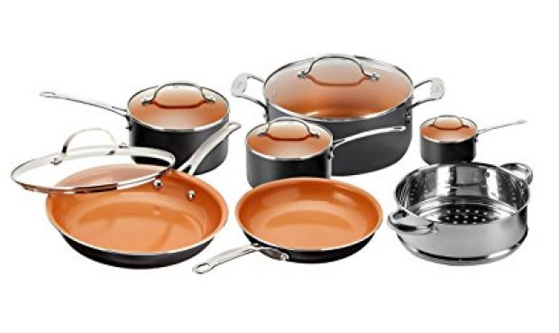 Normally $200, this frying pan and cookware set is 55 percent off today (Photo via Amazon)
