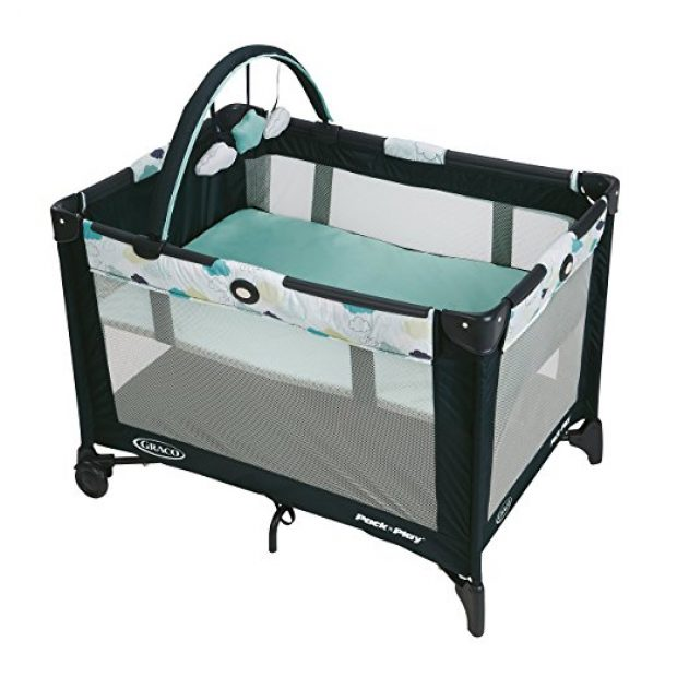 Normally $80, this playpen is 45 percent off today (Photo via Amazon)
