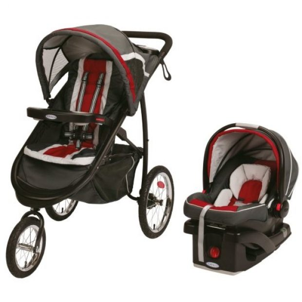 Normally $320, this stroller is 49 percent off today (Photo via Amazon)