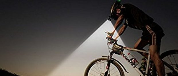 Night cycling is just one use for this popular headlamp (Photo via Amazon)