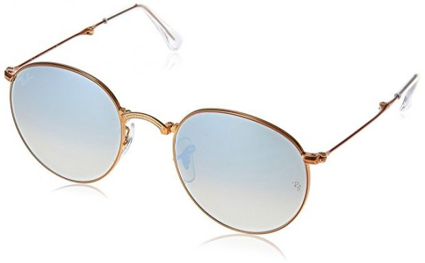 Normally $225, this pair of Ray-Bans is 50 percent off today (Photo via Amazon)