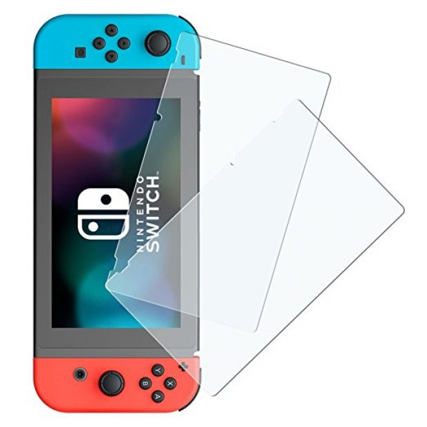 Normally $30, this screen protector for the switch is 77 percent off until April 2 (Photo via Amazon)