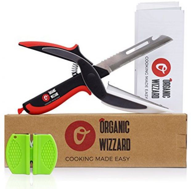 Normally $40, this knife-plus is half off (Photo via Amazon)