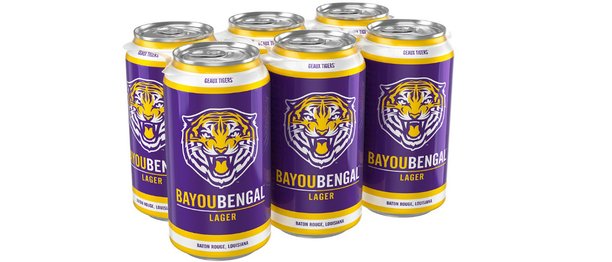 Bayou Bengal Lager courtesy of Tin Roof Brewing Co