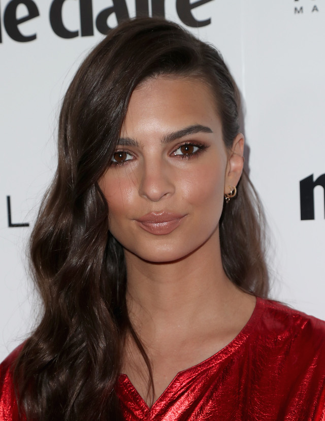 WEST HOLLYWOOD, CA - APRIL 21: Actress Emily Ratajkowski attends Marie Claire's 'Fresh Faces' celebration with an event sponsored by Maybelline at Doheny Room on April 21, 2017 in West Hollywood, California. (Photo by Neilson Barnard/Getty Images for Marie Claire)