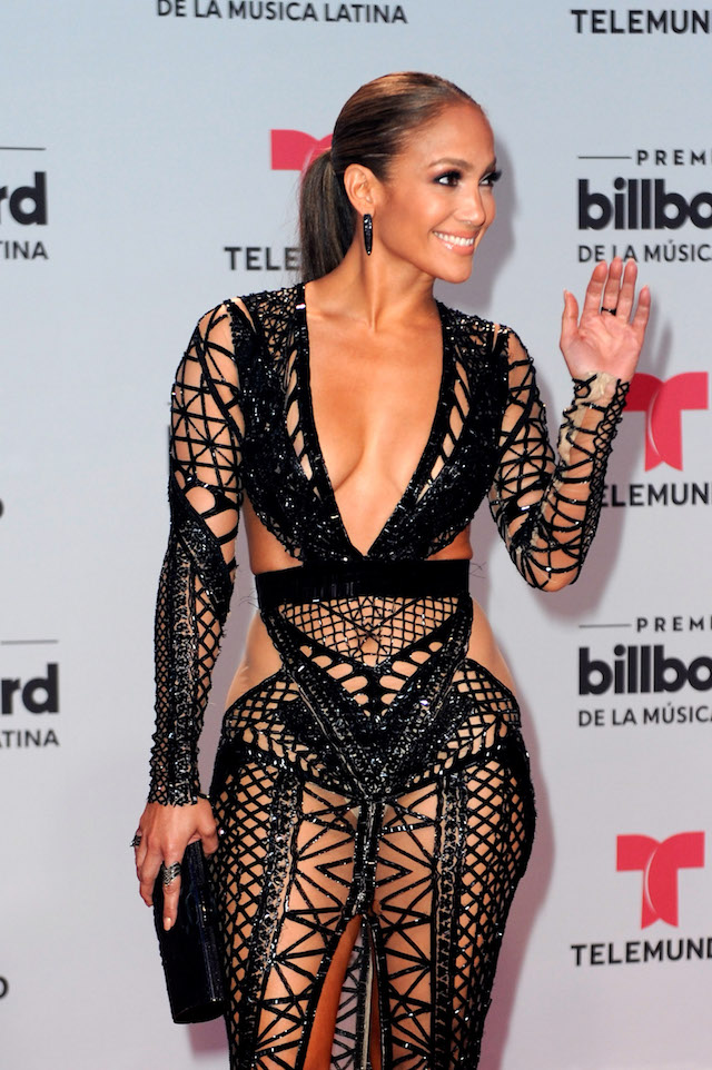 CORAL GABLES, FL - APRIL 27: Jennifer Lopez attends the Billboard Latin Music Awards at Watsco Center on April 27, 2017 in Coral Gables, Florida. (Photo by Sergi Alexander/Getty Images)