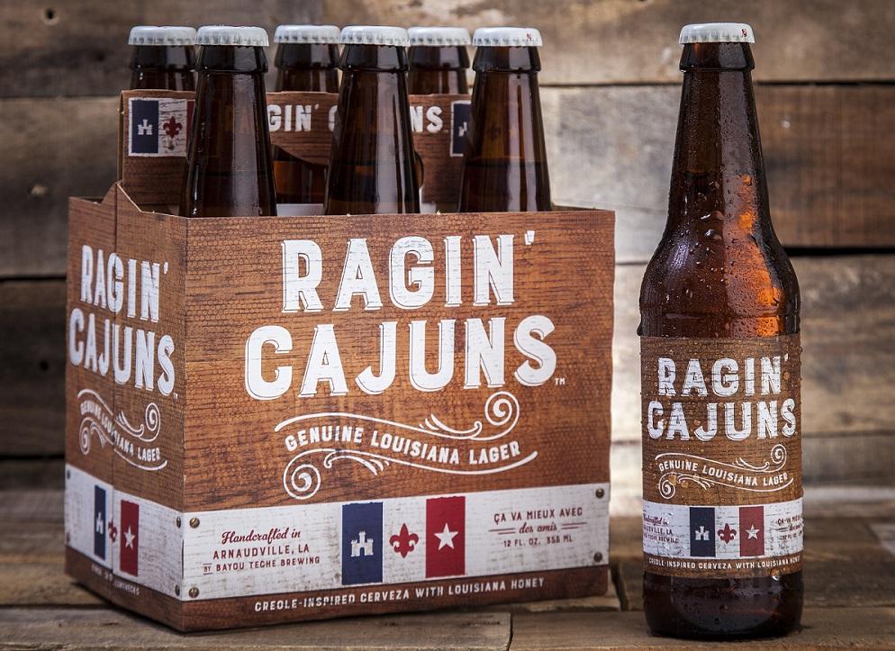 Ragin Cajuns courtesy of Bayou Teche Brewing
