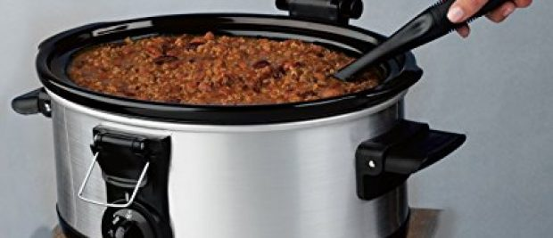 From soup day Saturdays to an occasional party pot roast, the Hamilton Beach Stay or Go 6 Quart Lid Latch strap Slow Cooker has you covered.