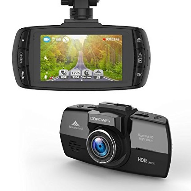Normally $100, this dash cam is 60 percent off with this exclusive code (Photo via Amazon)