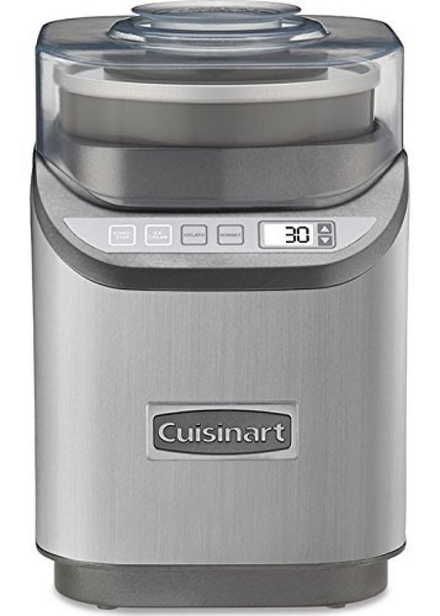 Normally $250, this ice cream maker is 49 percent off today (Photo via Amazon)