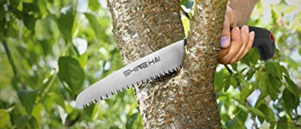 This is the perfect time to get a handsaw (Photo via Amazon)