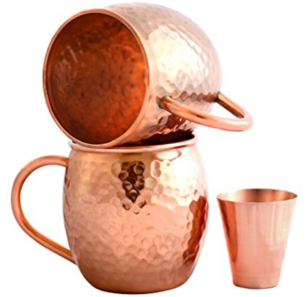 Normally $70, this set of copper mugs is 63 percent off today. It also supports Wounded Warriors (Photo via Amazon)
