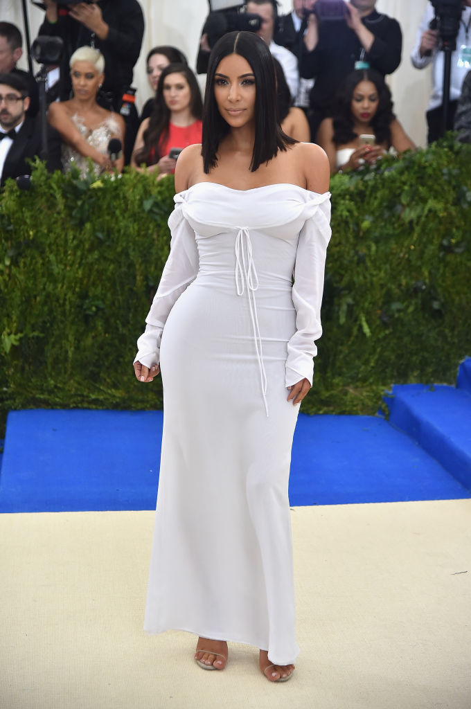 """Kim Kardashian West attends the """"Rei Kawakubo/Comme des Garcons: Art Of The In-Between"""" Costume Institute Gala at Metropolitan Museum of Art on May 1, 2017 in New York City. (Photo by Theo Wargo/Getty Images For US Weekly)"""