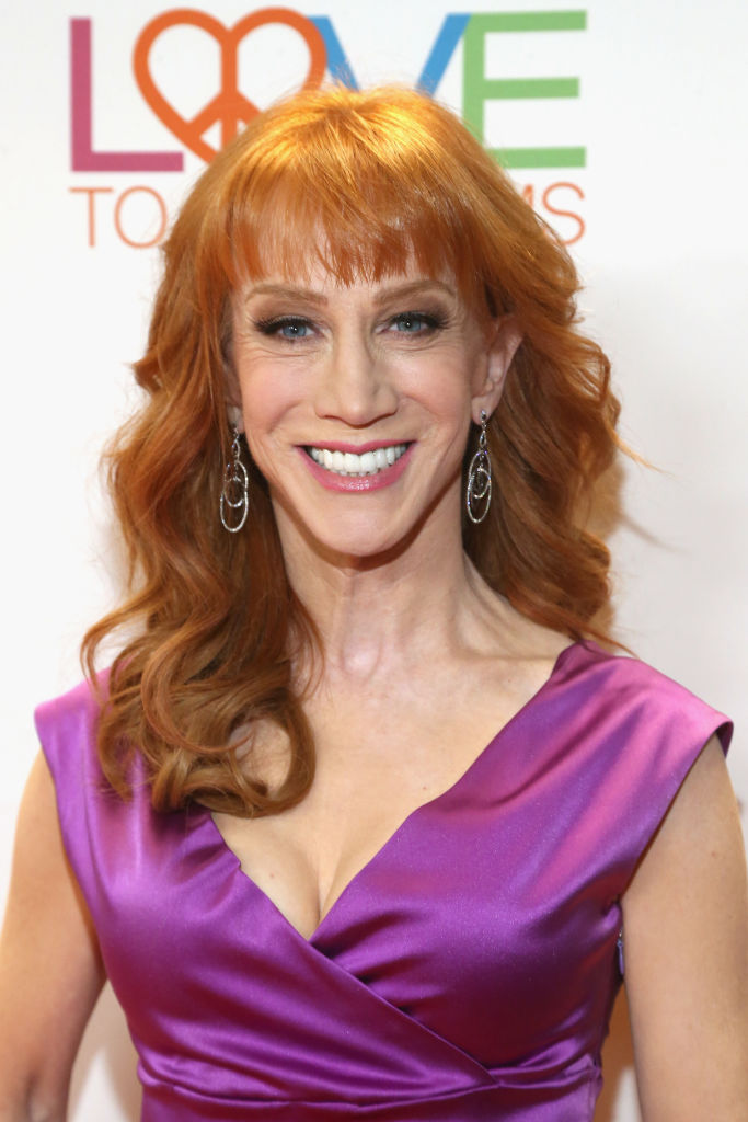 BEVERLY HILLS, CA - MAY 05: Actor/comedian Kathy Griffin attends the 24th Annual Race To Erase MS Gala at The Beverly Hilton Hotel on May 5, 2017 in Beverly Hills, California. (Photo by Tommaso Boddi/Getty Images for Evine)